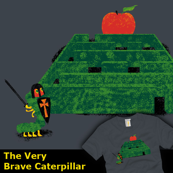 The Very Brave Caterpillar