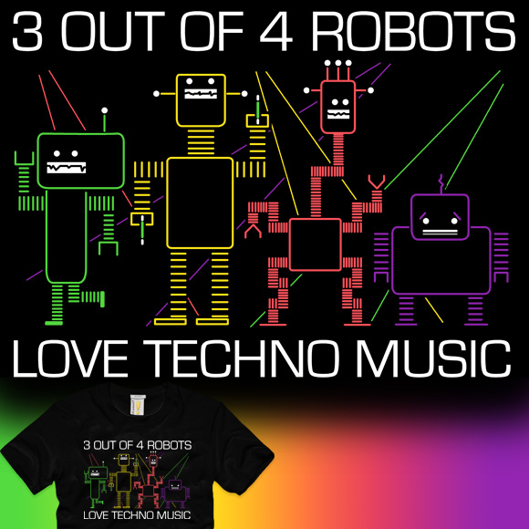Some Robots Hate Techno