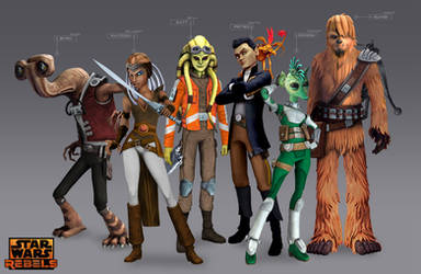 Star Wars Rebels Concept - Young Pirates
