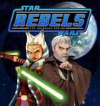 Ahsoka and Ben (Rebels Fan Art)