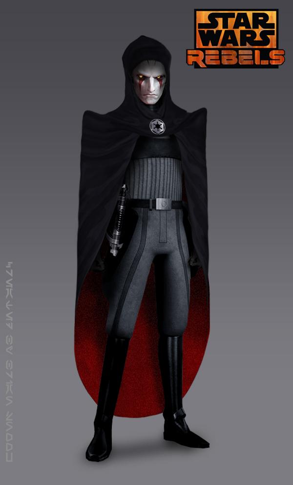 Cloaked Inquisitor (Star Wars Rebels Fan Art)