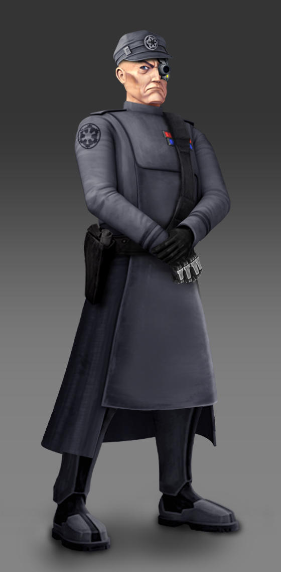 Star Wars Rebels Admiral Screed Fan Art
