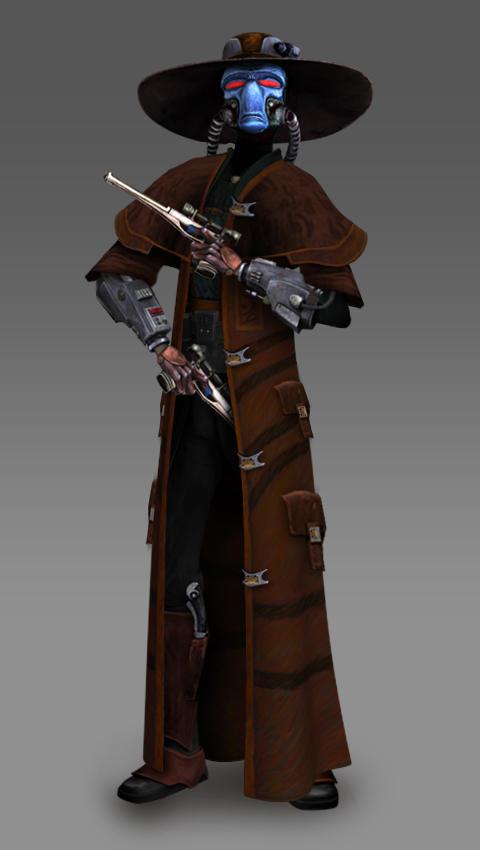 Cad Bane Clone Wars Season 7 Concept /  Redesign