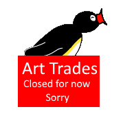 Pingu Closed Art Trades by miguelcaminoiscutie