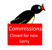 Pingu Closed Commissions by miguelcaminoiscutie