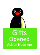Pingu Open Gifts by miguelcaminoiscutie