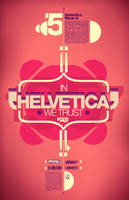 Helvetica Science Series 005 by LouieHitman