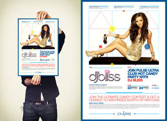 Dj Bliss Hot Candy Poster
