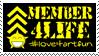 love4artfun member4life stamp by LouieHitman