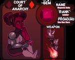 Magenta Ruby - CoA