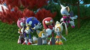 Sonic Friends 3D