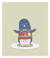 Boom Penguin by mrtnmccn
