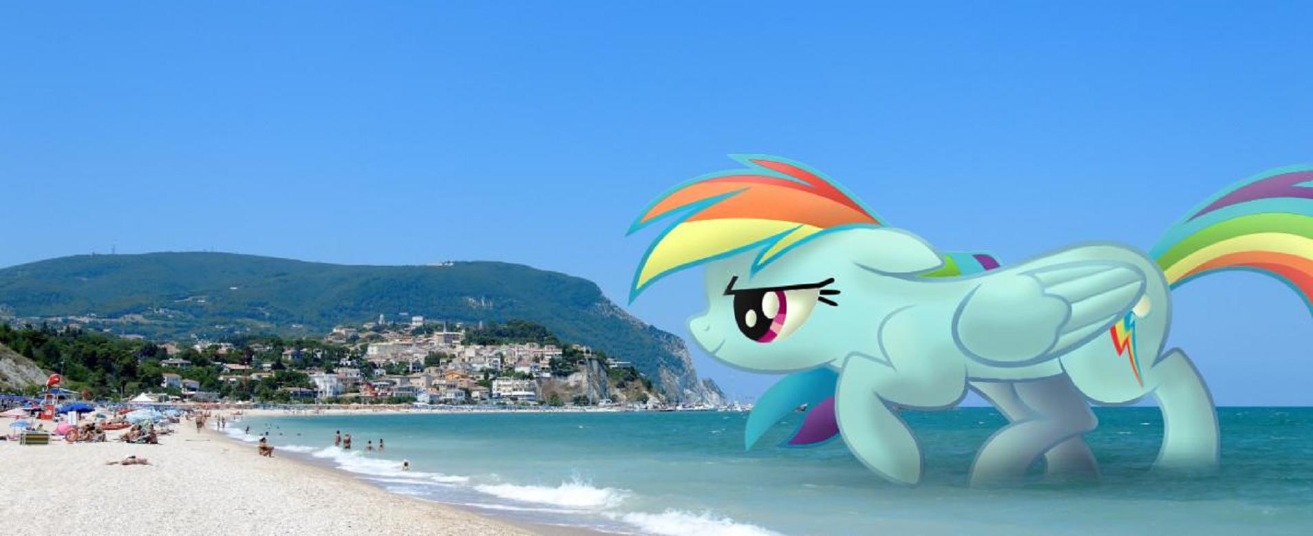 WV: Rainbow Shark Beach by darkoverlords on DeviantArt