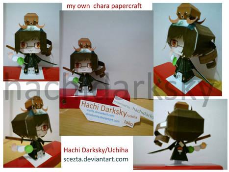 Hachi Darksky Papercraft fin