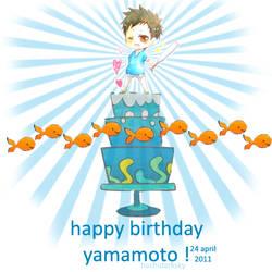 Happy Birthday Yamamoto :D by ScezTa