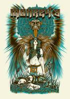 Monkey 3 - Poster tour 2014 by Johannahoj