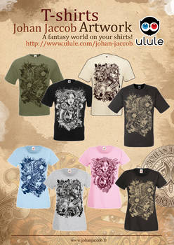 T-shirts johan jaccob artwork