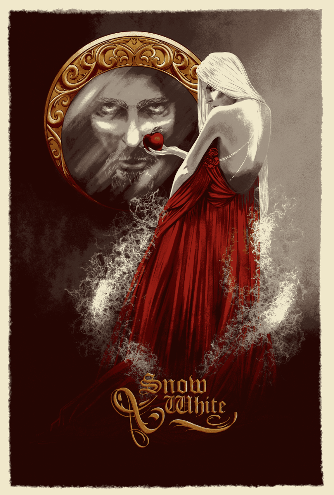 Snow White by Johannahoj