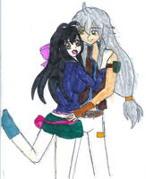 Victoria and Tsubasa by YuzuErinaVictoria