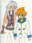 Tsubasa and Yu