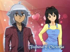 Tsubasa and Victoria Otori by YuzuErinaVictoria