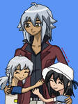 .:Tsubasa and his kids:.