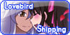 Stamp Button Lovebirdshipping by YuzuErinaVictoria