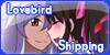Stamp Button Lovebirdshipping by YuzuErinaVictoria