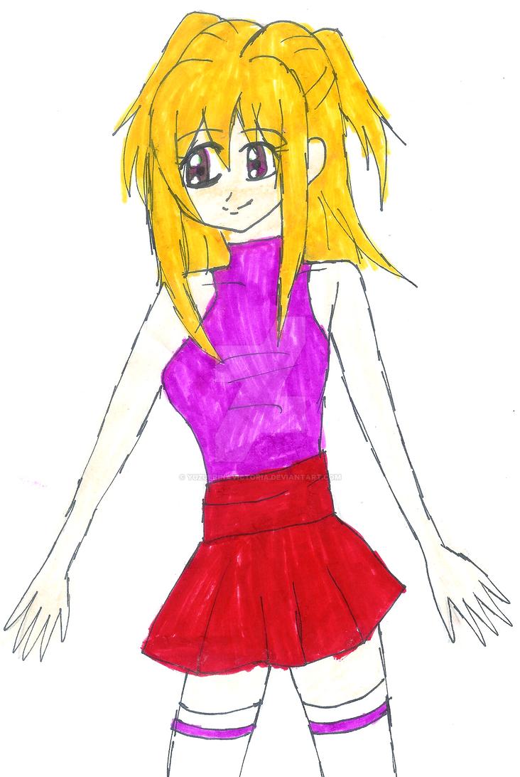 Yu-Gi-Oh! Arc-V OC: Erina Azuki by YuzuErinaVictoria