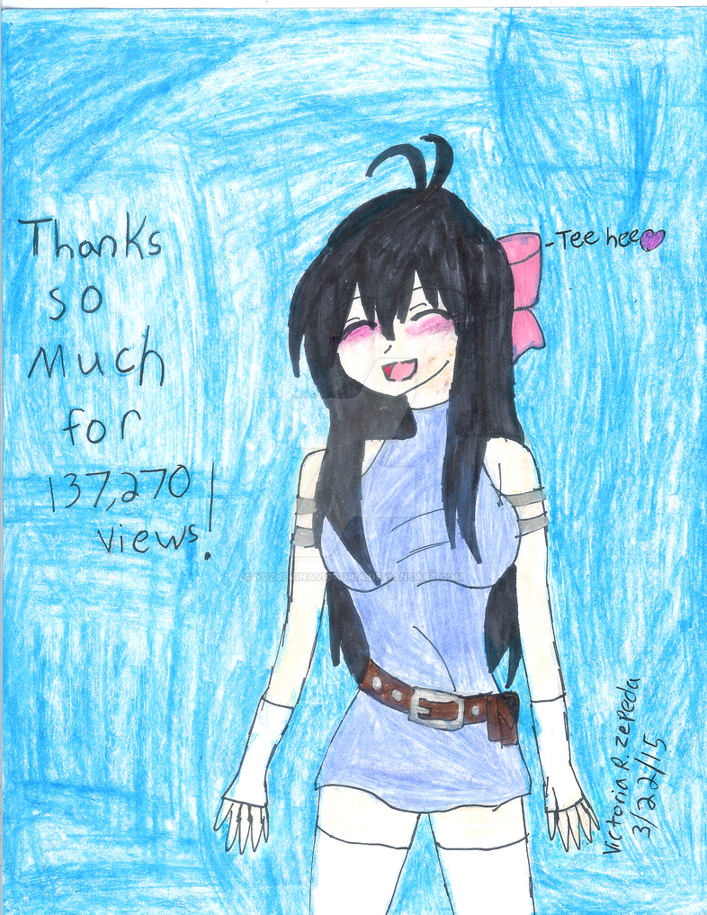 Thank you so much for Views! by VictoriaRZepeda