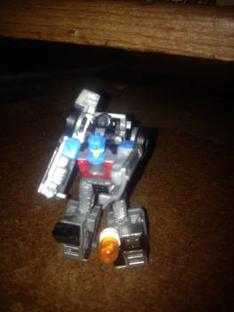 Delorean Robot Mode