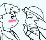 Your Blushing...