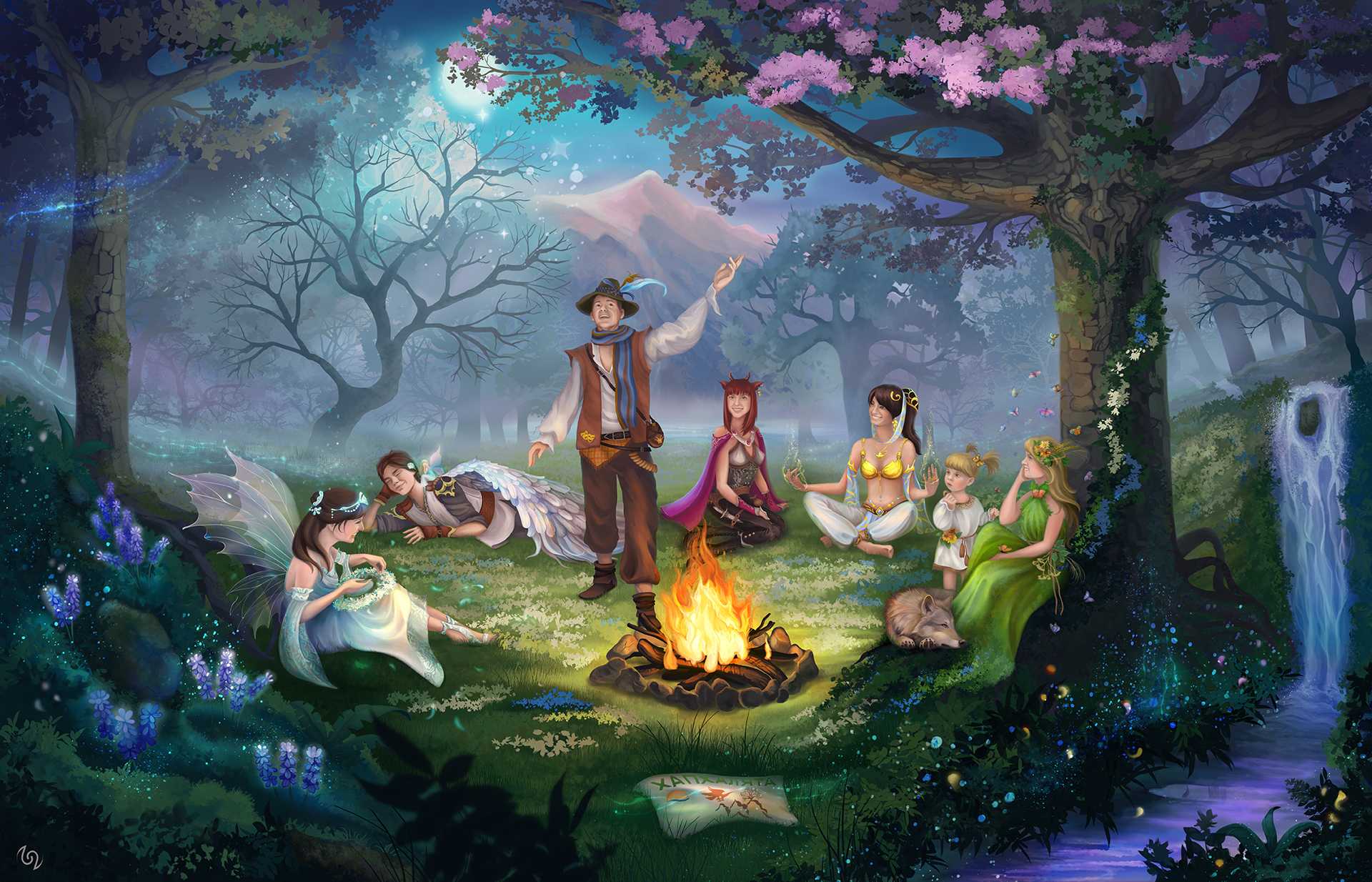 Fantasy Forest By T22t On Deviantart