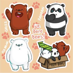 We Bare Bears!