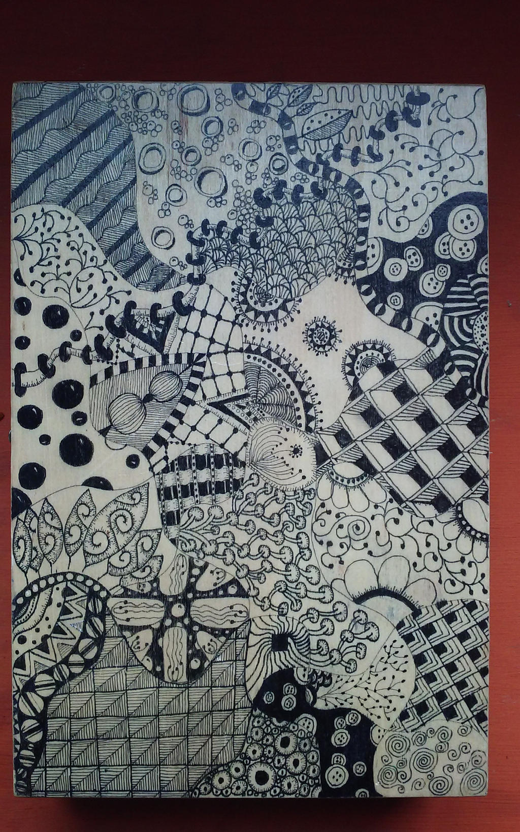 Doodle Box 1 by rowaneagle