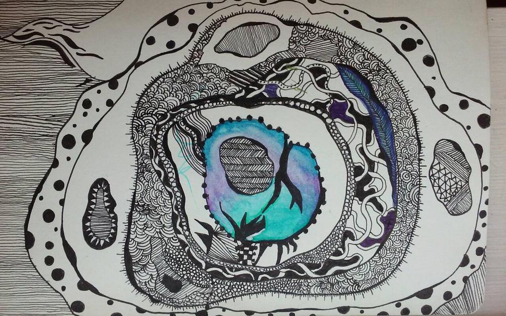 Doodle 1 by rowaneagle