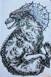 Fluff Beastie by Hawkpath-tail