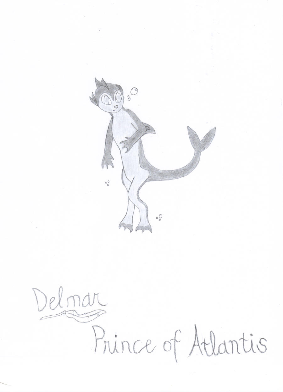 Delmar the Atlantian by 6SeaCat9