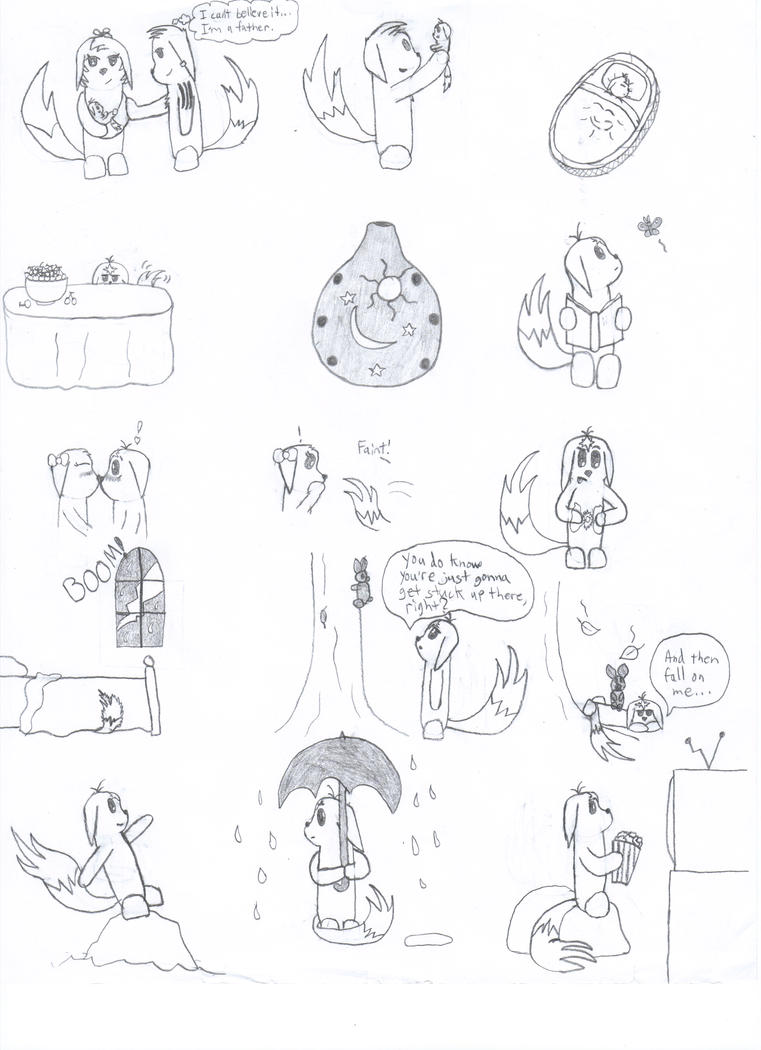 More Neoko Doodles by 6SeaCat9