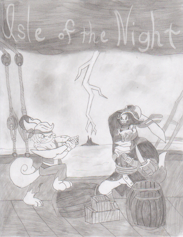 Isle of the Night: Cover by 6SeaCat9