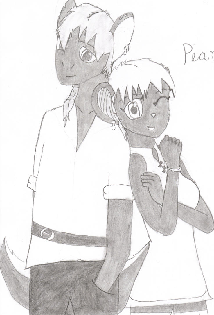 Skyler and Pearl by 6SeaCat9
