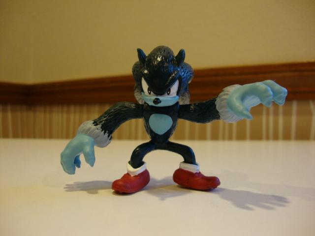 Werehog Sonic by 6SeaCat9