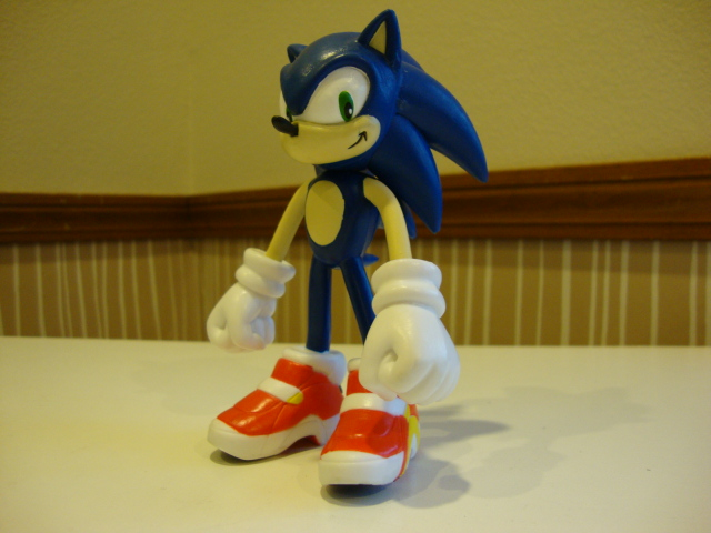 Sonic Action Figure by 6SeaCat9