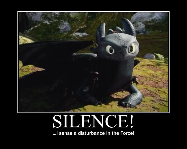 SILENCE! by 6SeaCat9