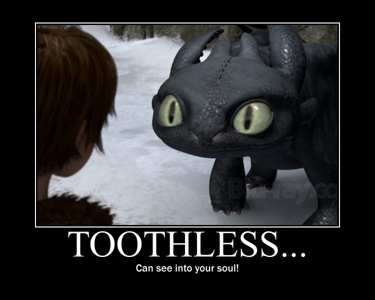 Toothless... by 6SeaCat9