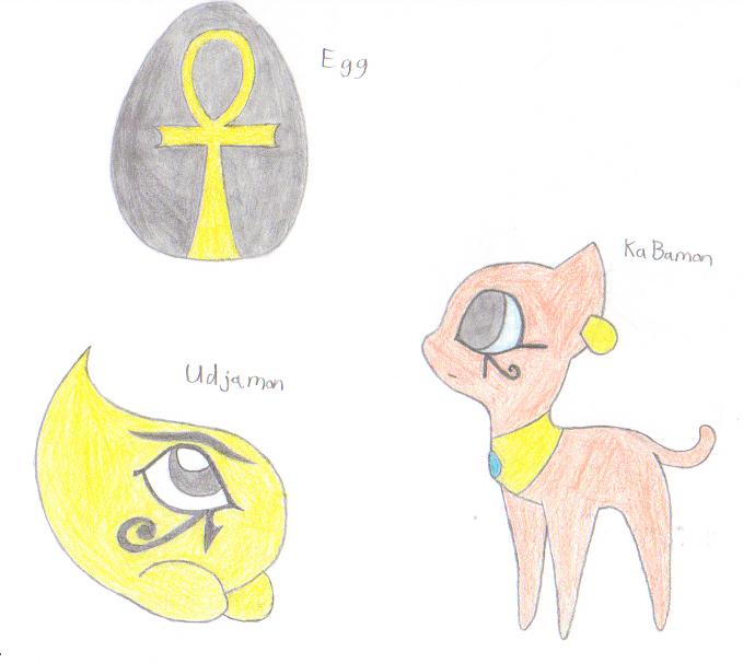 FAKEmon: Egg, Fresh, and In-Training by 6SeaCat9