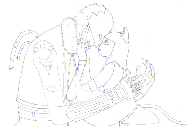 100 Themes: No Way Out .:Lineart:. by 6SeaCat9