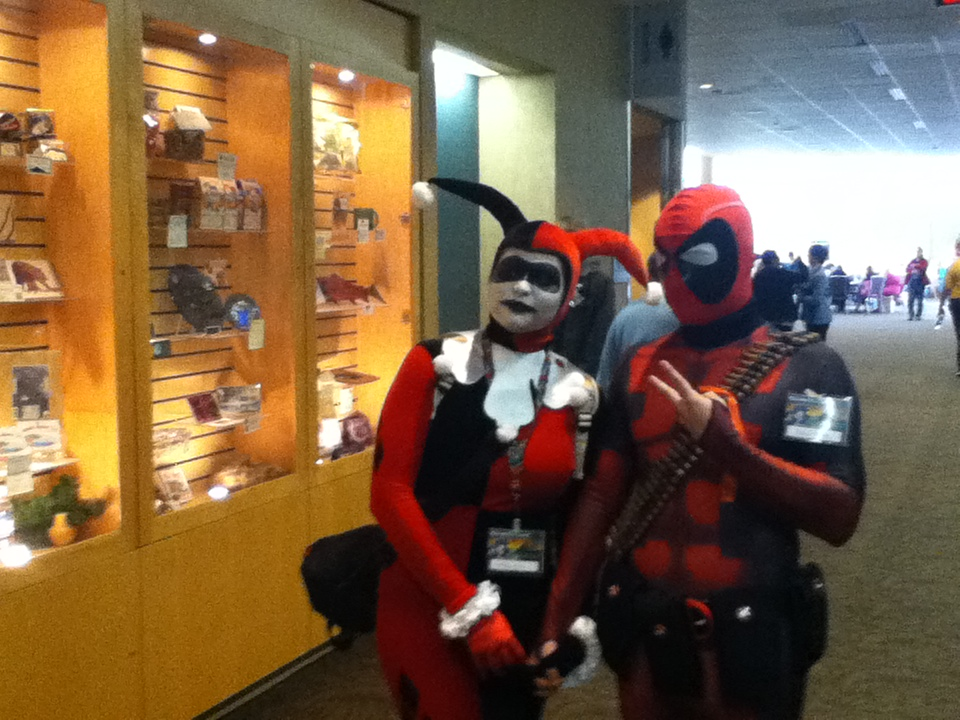Harely Quinn and Deadpool by 6SeaCat9