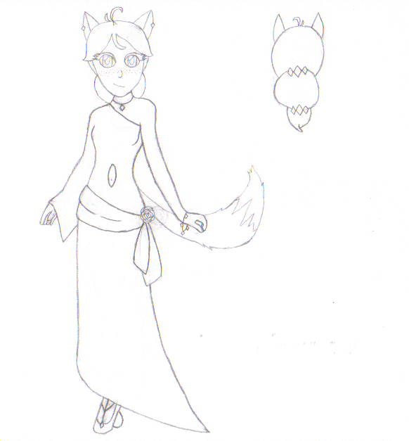 Contest Prize: Toony's Dress .:Lineart:. by 6SeaCat9