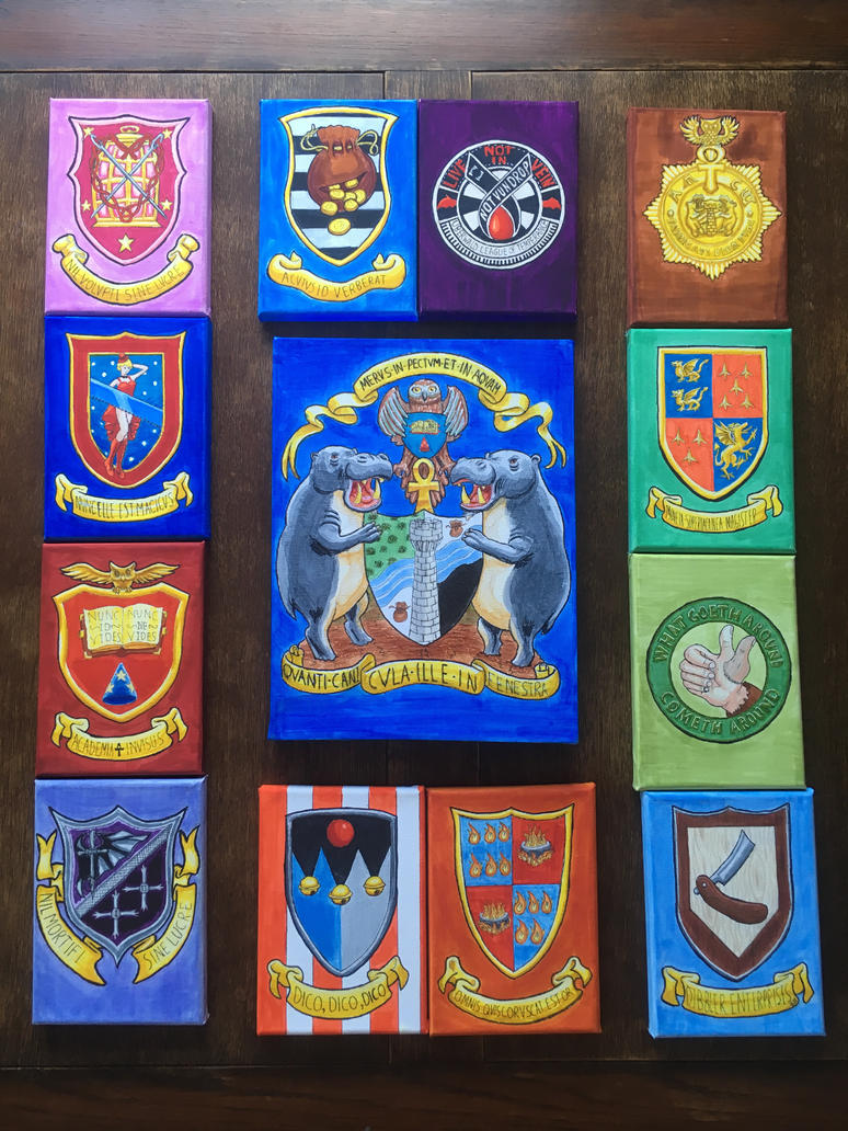 Discworld Citys and Guilds coat of arms by BBQNinja501st